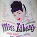 sheet music - Miss Liberty 1949 by judibird