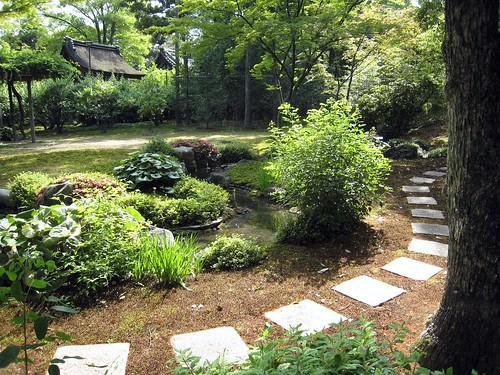 Meandering path, meandering stream, Jonangu Kyoto