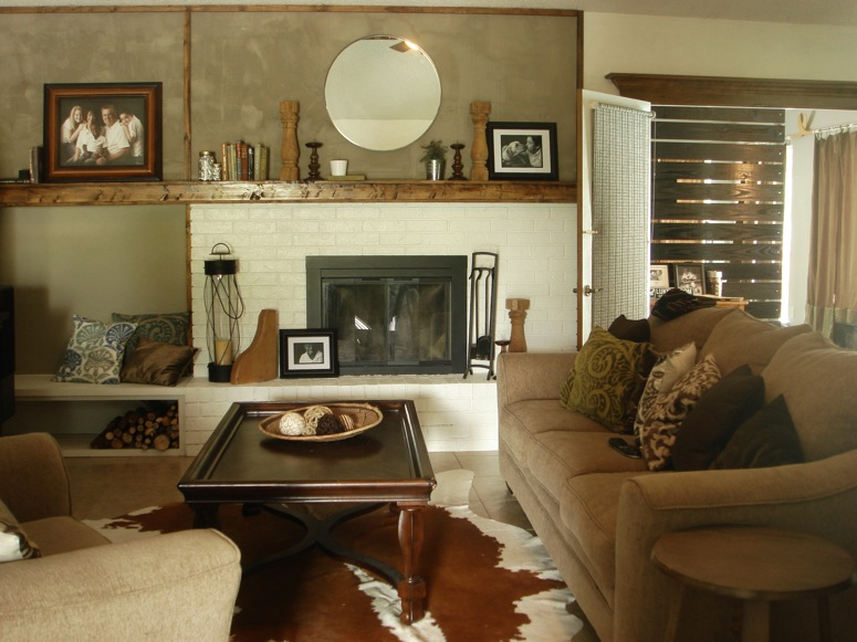 Modern Farmhouse Family Room Kara Paslay Design