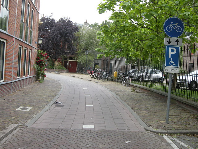 Bike only street, Utrecht