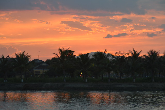 Sunset in Hoi An, Vietnam