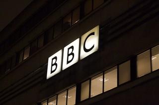 BBC building / logo