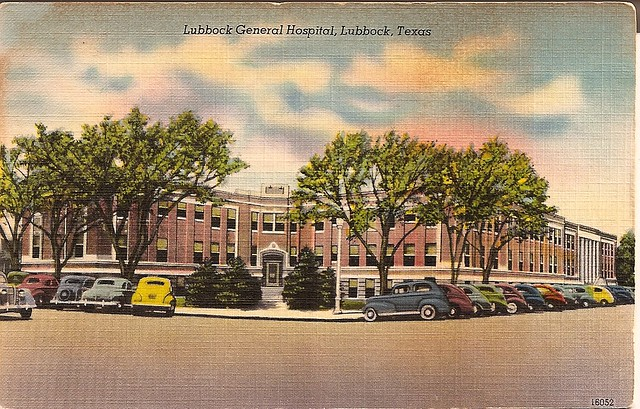Lubbock General Hospital Kind of a boring card but it