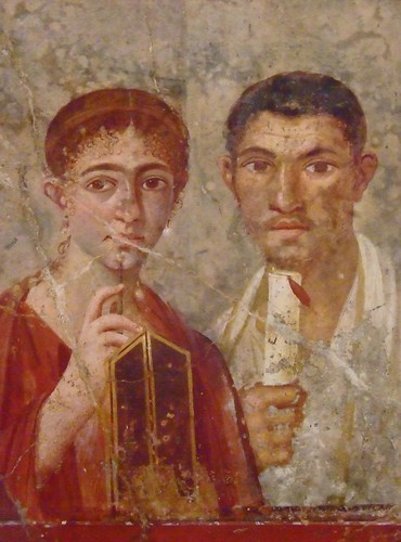 Frescoes from the Villa di Guilia Felice in Pompeii Roman 1st century CE (13)