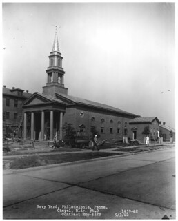 Philadelphia Navy Yard Chapel September 1942
