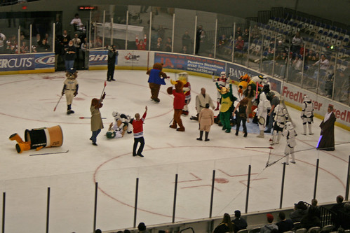 Mascots Win!!