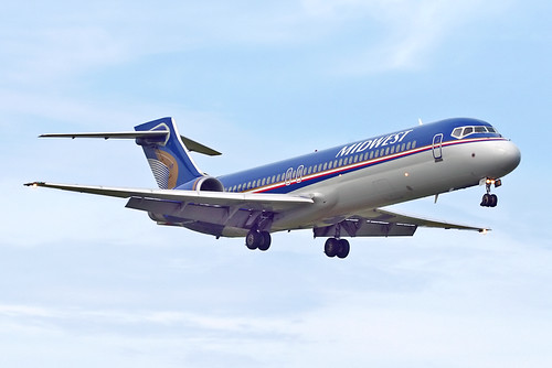 Midwest Airlines Boeing 717-2BL N917ME