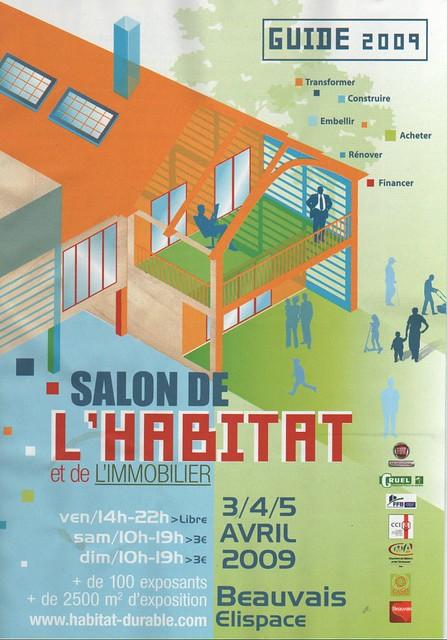 Guide salon de l 39 habitat beauvais 2009 70000 exemplaires - Salon habitat beauvais ...