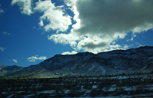 Snowy Rocky Mountains
