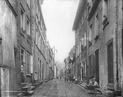 Little Champlain Street, Quebec City, QC, about 1890