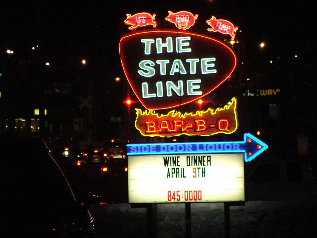 State Line Barbecue El Paso