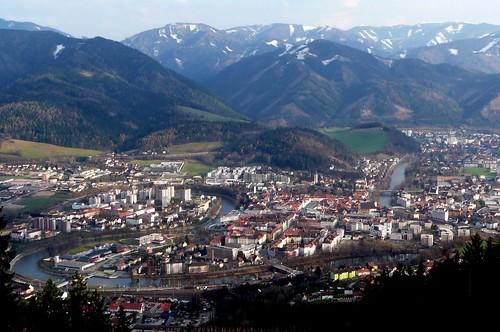austria view steiermark styria leoben
