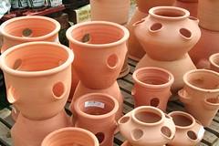 art, flowerpot, clay, pottery,