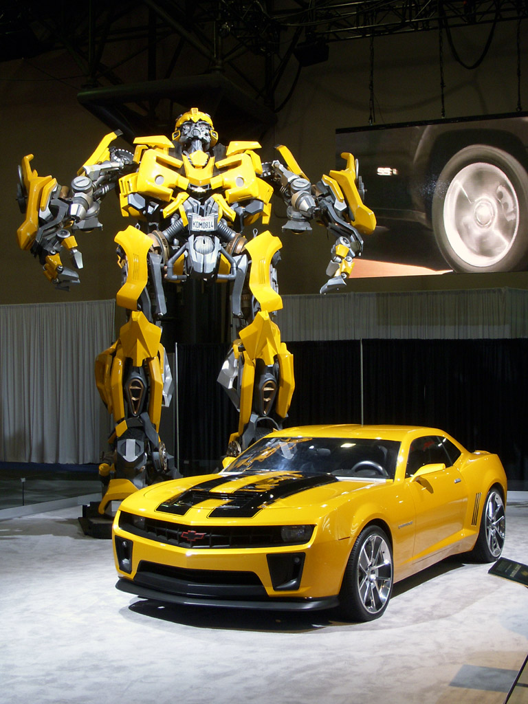bumblebee camaro transformer a photo on flickriver. Black Bedroom Furniture Sets. Home Design Ideas