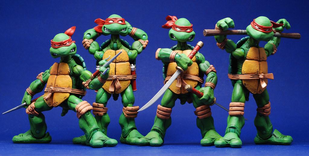 NECA Turtles: Group Shot Part 2