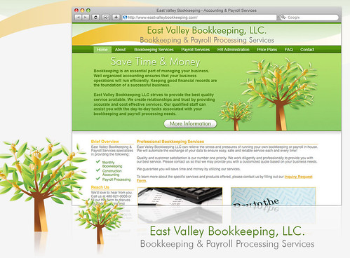 East Valley Bookkeeping by Shay Howe