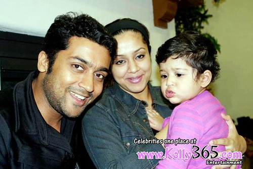 Diya surya jyothika baby photos 2