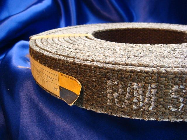 Woven Brake Lining Material : Vintage raybestos manhattan woven brake lining flickr