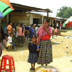 Market Scene in Peten, Guatemala