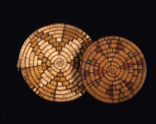 Hopi Coiled Basket Plaques