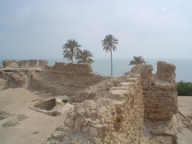 Castelo português no Golfo Persico