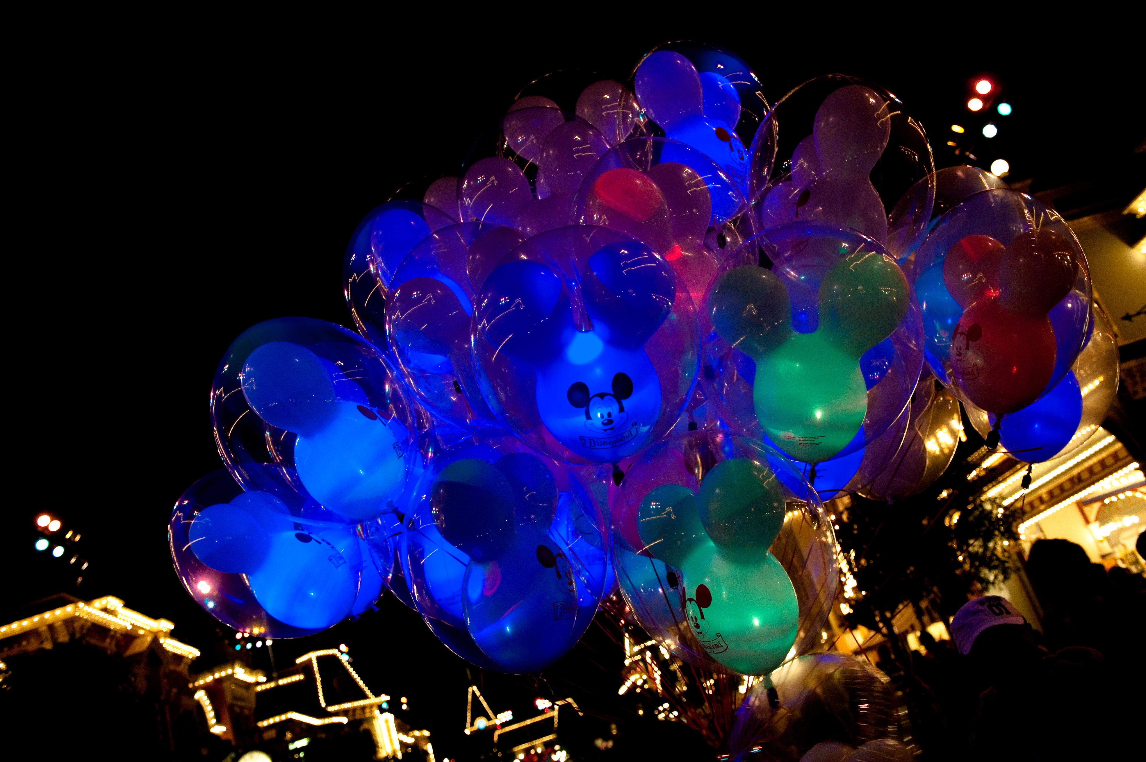 Night Balloons - Disneyland