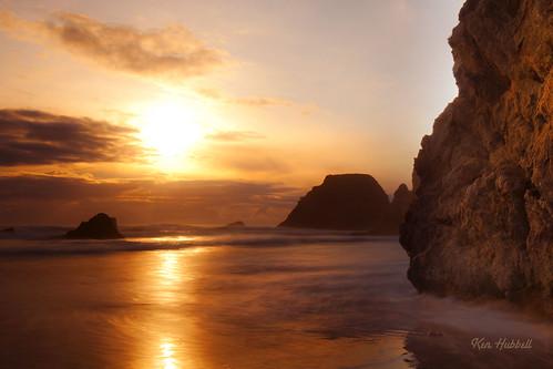 ocean sunset water landscape nikon waves pacific d3x leefilters 1635f4 kenhubbell