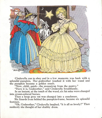 Page from Cinderella!