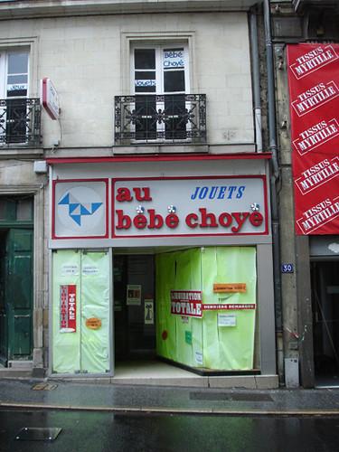 au b b choy nantes magasin de jouets ferm d finitivemen by kiekeboe pepa flickr. Black Bedroom Furniture Sets. Home Design Ideas