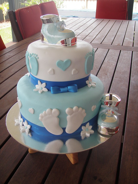 Baby Shower Cakes Perth Wa ~ Mossy s masterpiece baby boy shower cake a photo