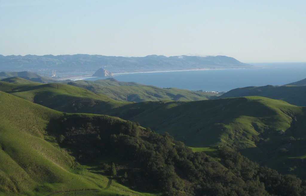 Morro Bay From Afar