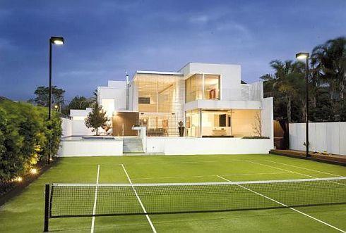 Home design minimalis luxurious minimalist brighton house for Beach house designs melbourne