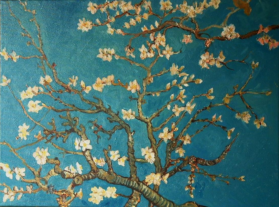 Van Gogh almond branch replica a photo on Flickriver