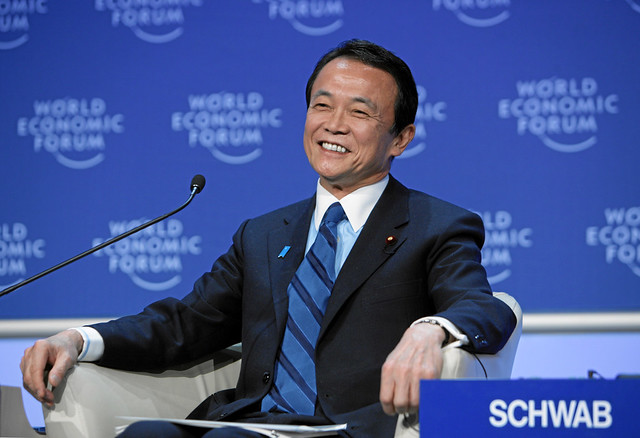Taro Aso - World Economic Forum Annual Meeting Davos 2009