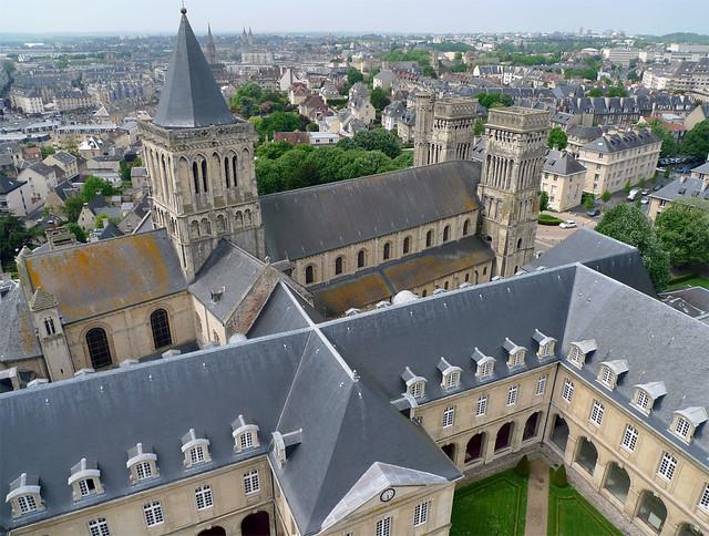 Abbaye aux Dames (Caen-Normandy-FR)