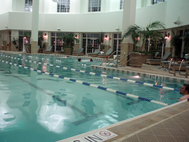 Indoor pool taken at the gaylord opryland resort nashvil flickr photo sharing for Gaylord opryland hotel swimming pool