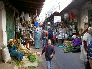 Moroccoan Marketplace, Ceuta