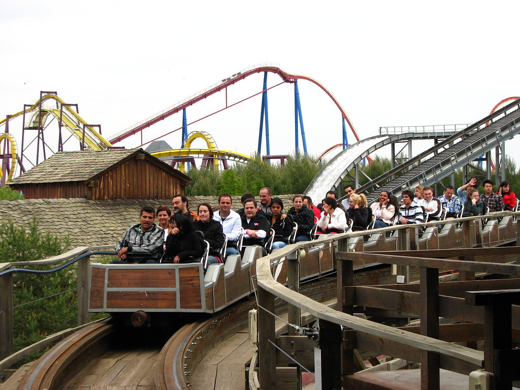 Parque Warner Madrid Coaster Express