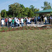 Oceanway Middle School on Earth Day with new outdoor classroom by JAXPORT