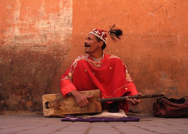 Marrakech people (Morocco)
