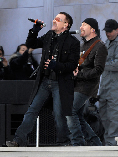Inauguration 2009: Bono and The Edge of U2