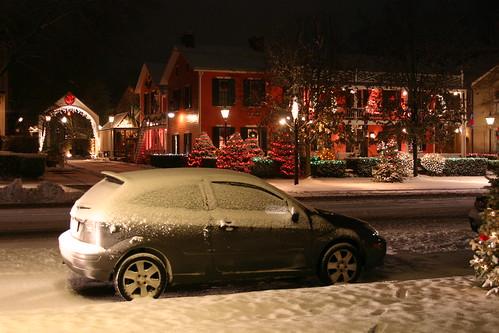 ohio snow granville christmaslights thebuxtoninn