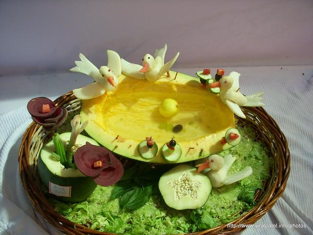 Salad decoration flickr photo sharing for Decoration salade
