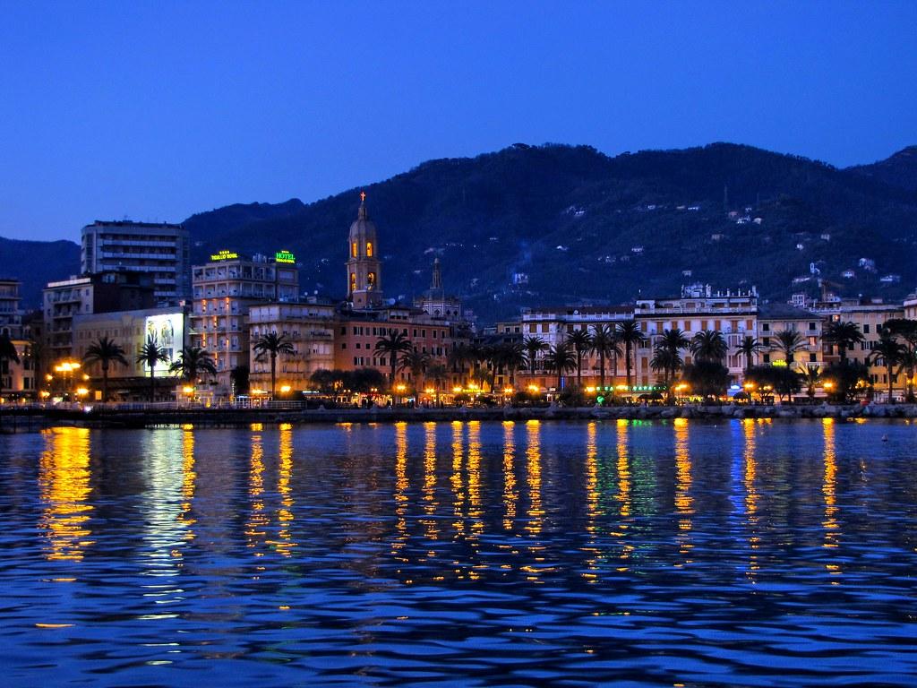 Elevation Of Mocònesi, Metropolitan City Of Genoa, Italy