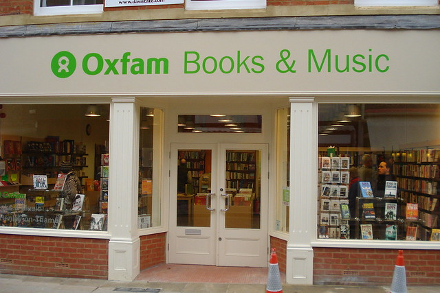 Oxfam Book shop, Henley-on-Thames