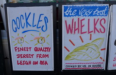 cockles and whelks