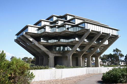 UC San Diego Library by Prayitno