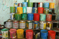 Cans of Paint Messy Costa Rica Trip 2009 289