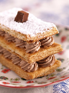 Chocolate Mille-Feuilles