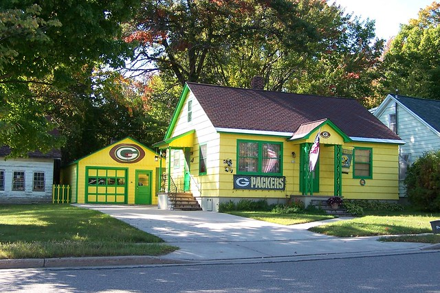 Green Bay Packer House Rhinelander Wisc Flickr Photo Sharing